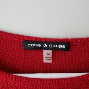 Cable & Gauge Sweaters - Cable & Gauge Short Sleeve Sweater